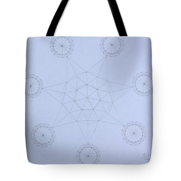Impossible Parallels Tote Bag by Jason Padgett