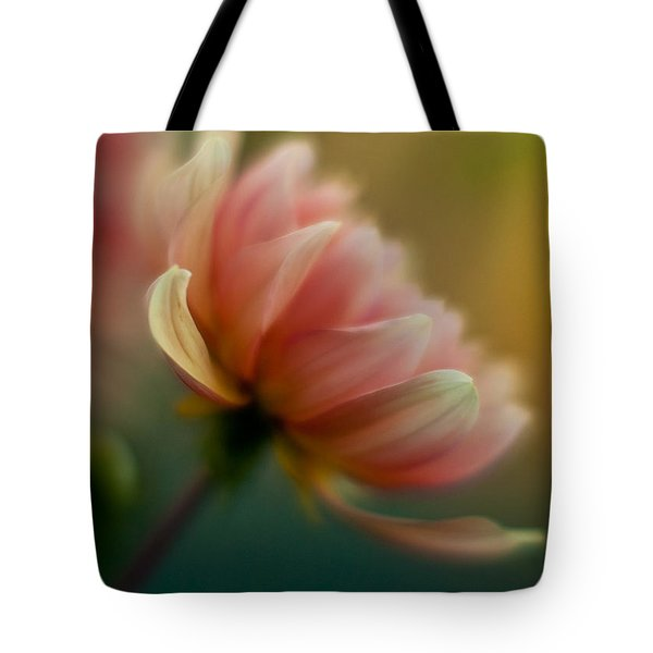 Impressionist Dahlia Tote Bag by Mike Reid