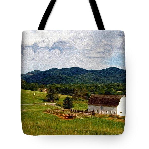 Impressionist Farming Tote Bag by John Haldane