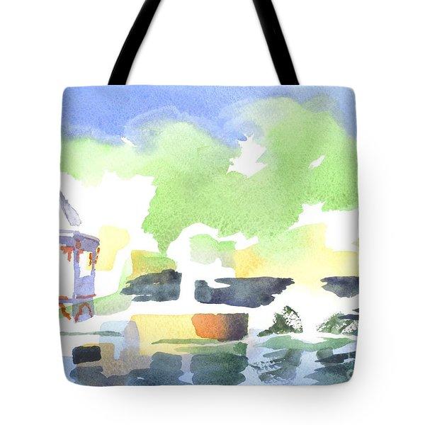 Impressions Tote Bag by Kip DeVore