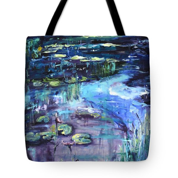 Impressions Of Giverny Tote Bag by Donna Tuten