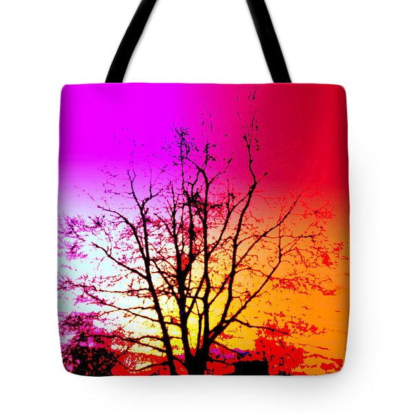 In A Bubble Tote Bag by Hilde Widerberg