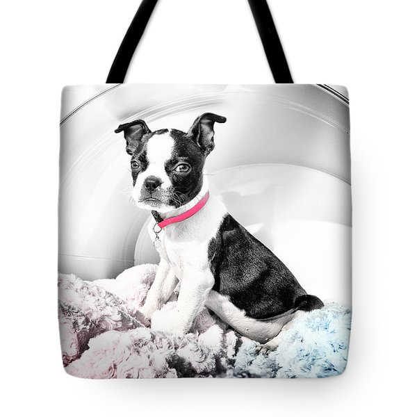 In A Bucket Tote Bag by Lori Frostad