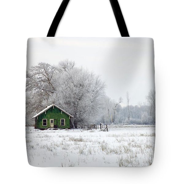 In a Sea of White Tote Bag by Mike  Dawson