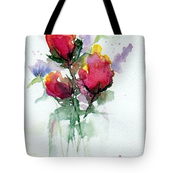 In A Vase Tote Bag by Anne Duke