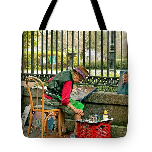In Another World Tote Bag by Steve Harrington