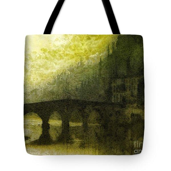 In Fair Verona Tote Bag by Mo T