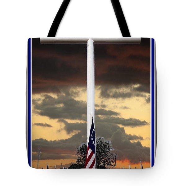 In God We Trust Tote Bag by Ella Kaye Dickey
