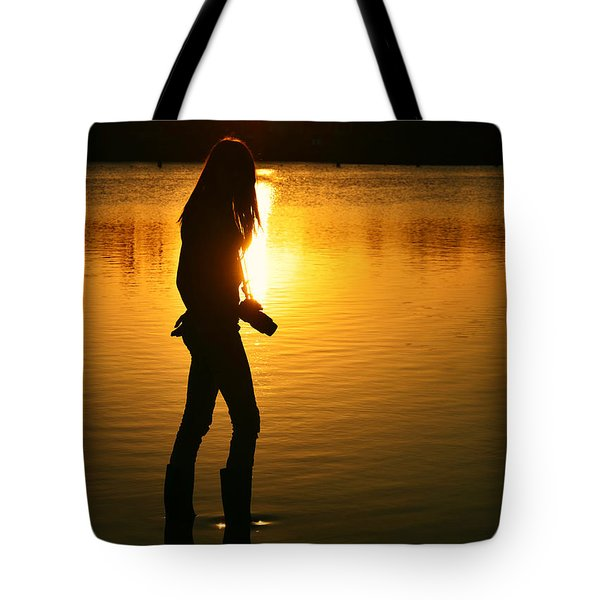 In Her Element Tote Bag by Laura  Fasulo
