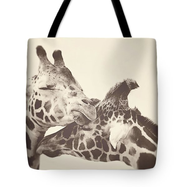In Love Tote Bag by Carrie Ann Grippo-Pike