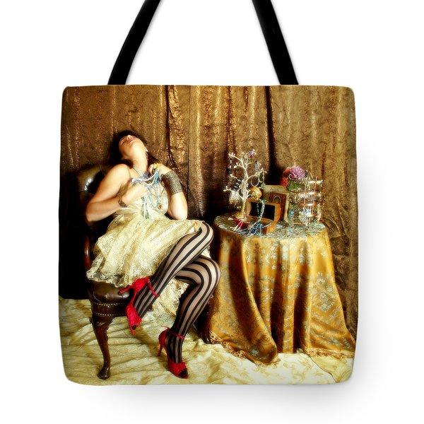 In Love Tote Bag by Cindy Nunn
