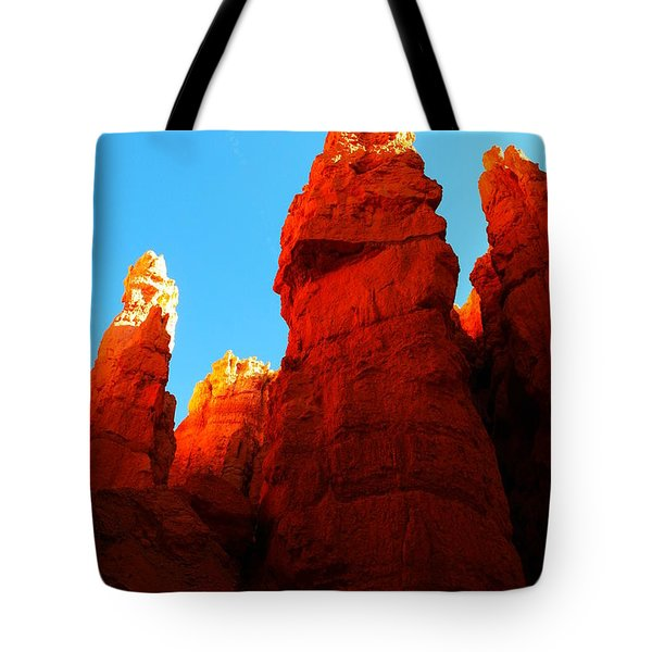 In Shadows Where The Gods Wander Tote Bag by Jeff Swan