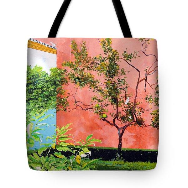In The Alcazar Tote Bag by Darrell Sheppard