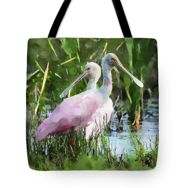 In The Bayou #2 Tote Bag by Betty LaRue