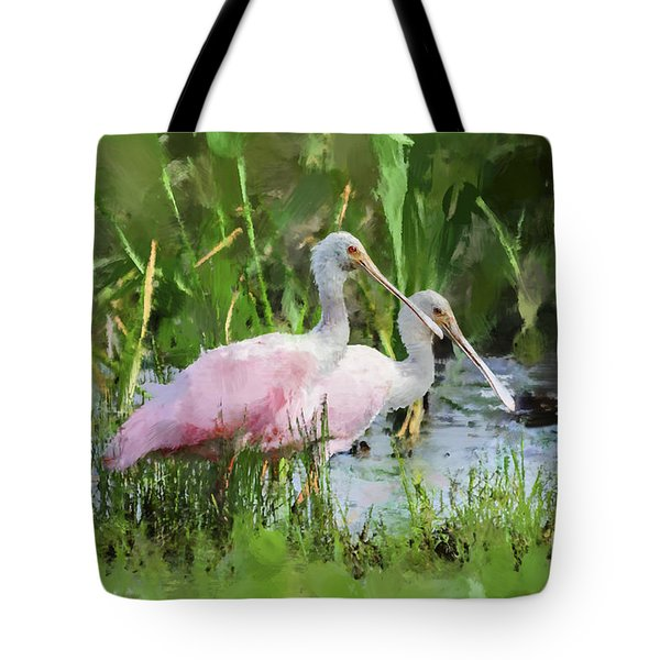 In The Bayou #3 Tote Bag by Betty LaRue