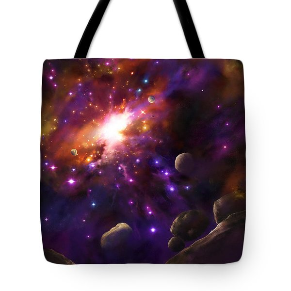 In The Beginning... Tote Bag by Tamer and Cindy Elsharouni