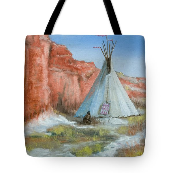 In The Canyon Tote Bag by Jerry McElroy