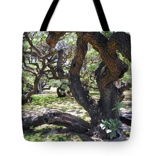 In The Depth Of Enchanting Forest Iv Tote Bag by Jenny Rainbow