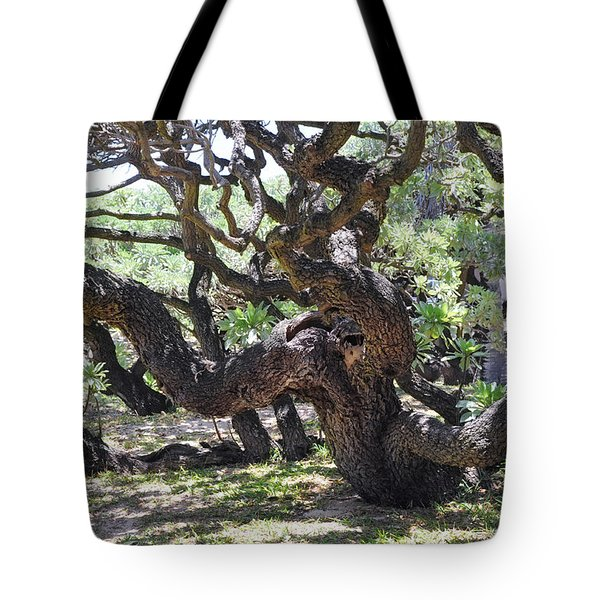 In The Depth Of Enchanting Forest Vi Tote Bag by Jenny Rainbow