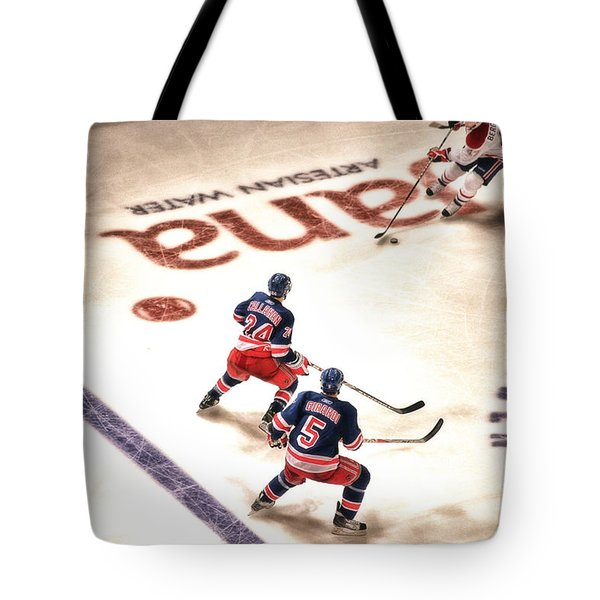 In The Game Tote Bag by Karol Livote
