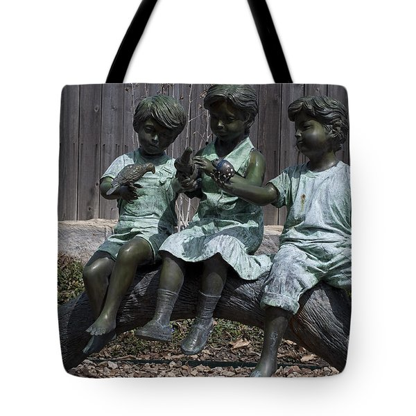 In The Garden Tote Bag by Liane Wright