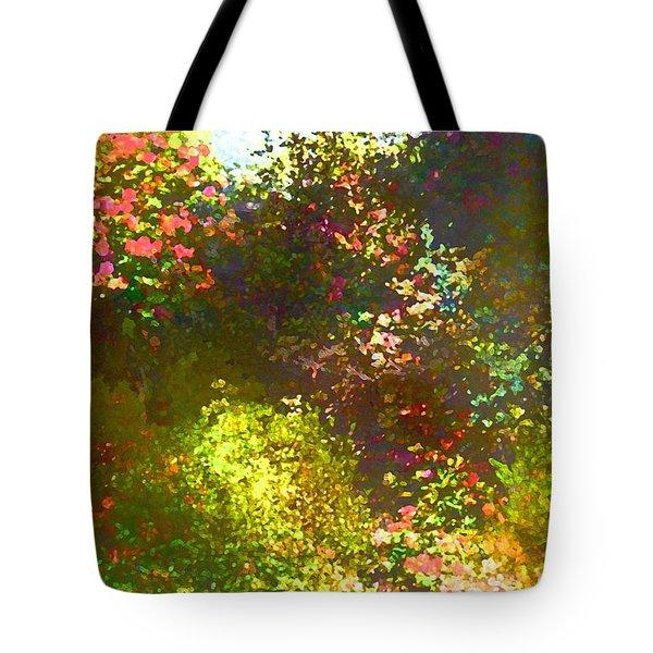 In the Garden Tote Bag by Pamela Cooper