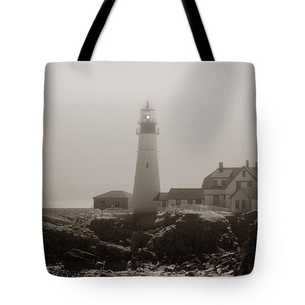 In The Mist Tote Bag by Joann Vitali