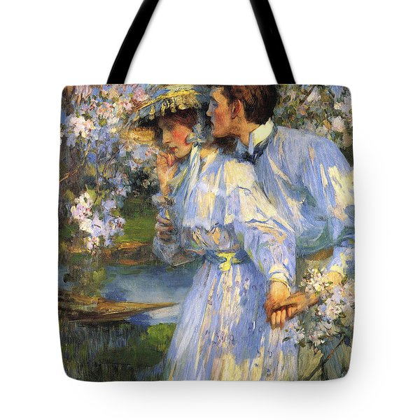 In The Springtime Tote Bag by James Shannon