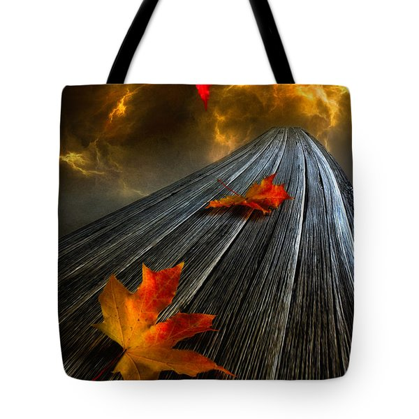 In The Storm Eye Tote Bag by Veikko Suikkanen