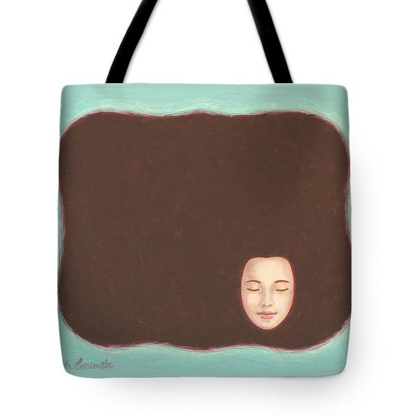 In The Void Tote Bag by Judith Grzimek