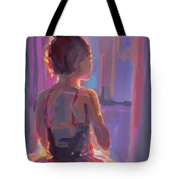 In The Wings Tote Bag by Kimberly Santini