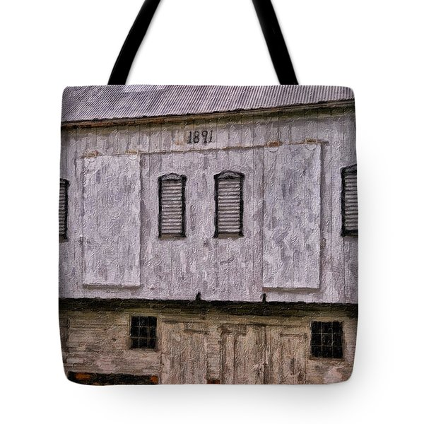 In The Year 1891 Tote Bag by Lois Bryan