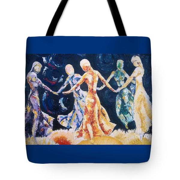 In Their Midst Tote Bag by Rhonda Falls