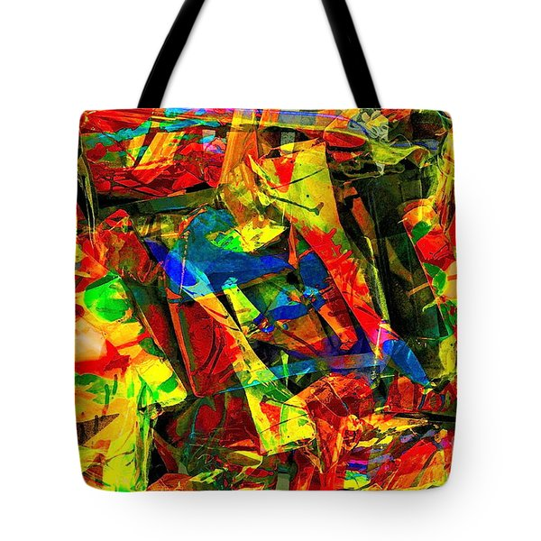 In Times Of Stress ... Tote Bag by Gwyn Newcombe