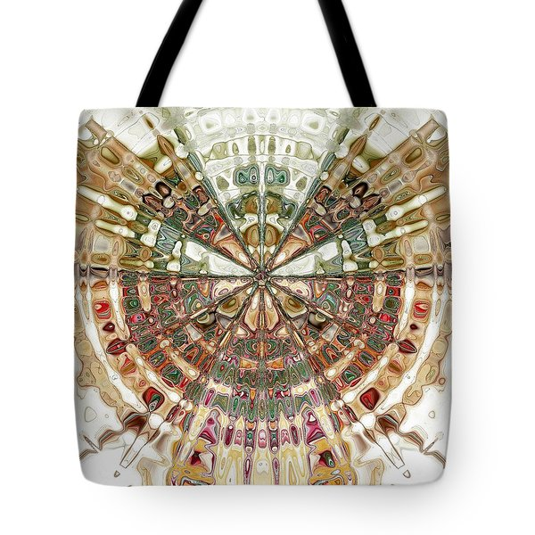 Incan Abstraction Tote Bag by Amanda Moore