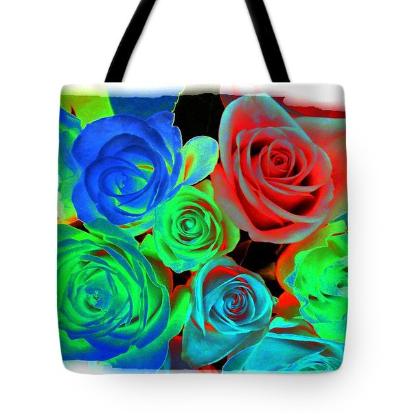 Incandescent Roses Tote Bag by Will Borden