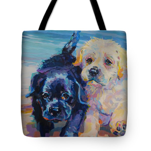 Incoming Tote Bag by Kimberly Santini