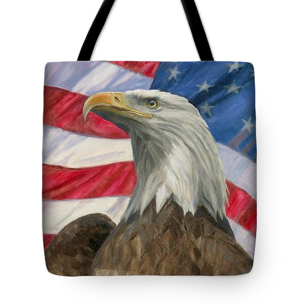 Independence Day Tote Bag by Gregory Doroshenko