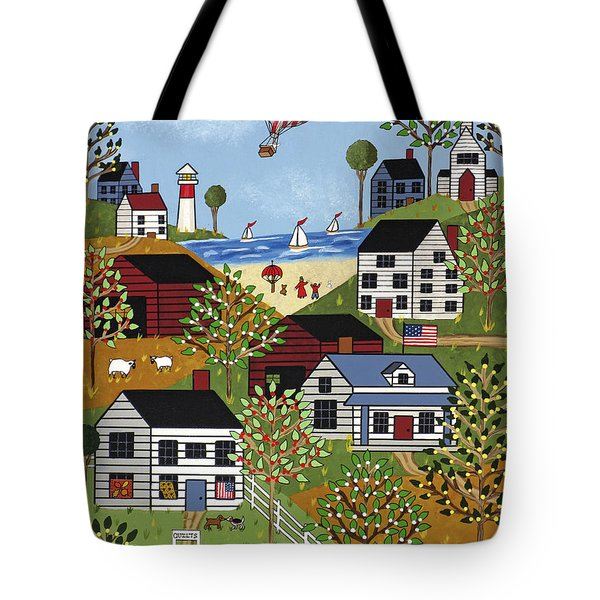 Independence Day Tote Bag by Medana Gabbard