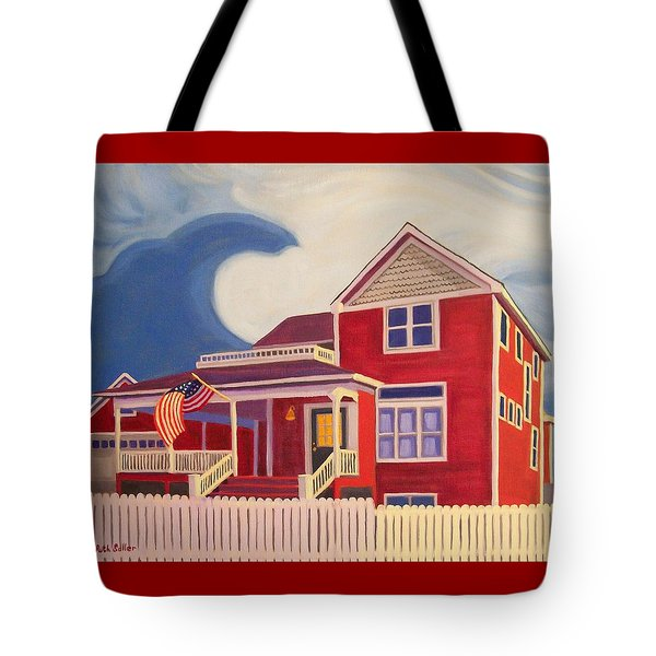 Independence Day Tote Bag by Ruth Soller