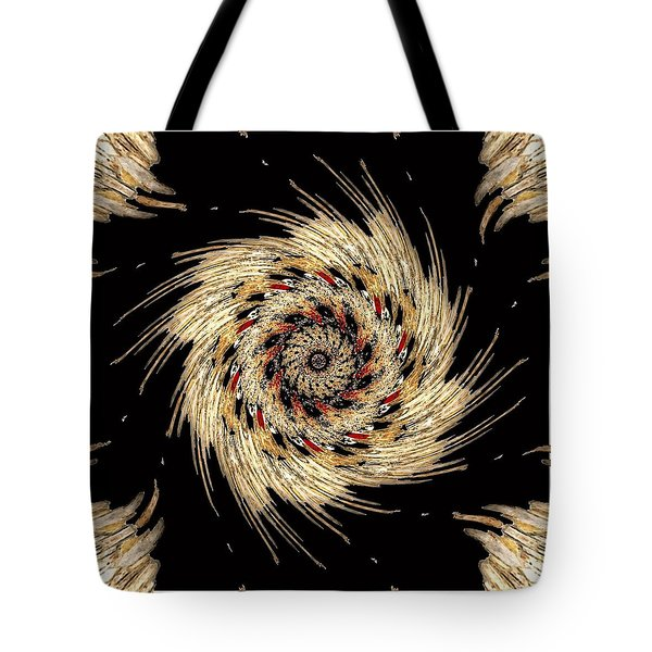 Indian Dance Tote Bag by Michael Damiani