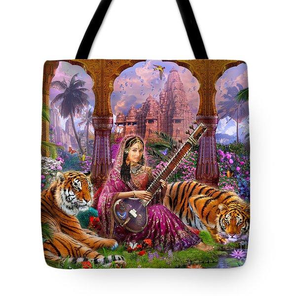 Indian Harmony Tote Bag by Jan Patrik Krasny