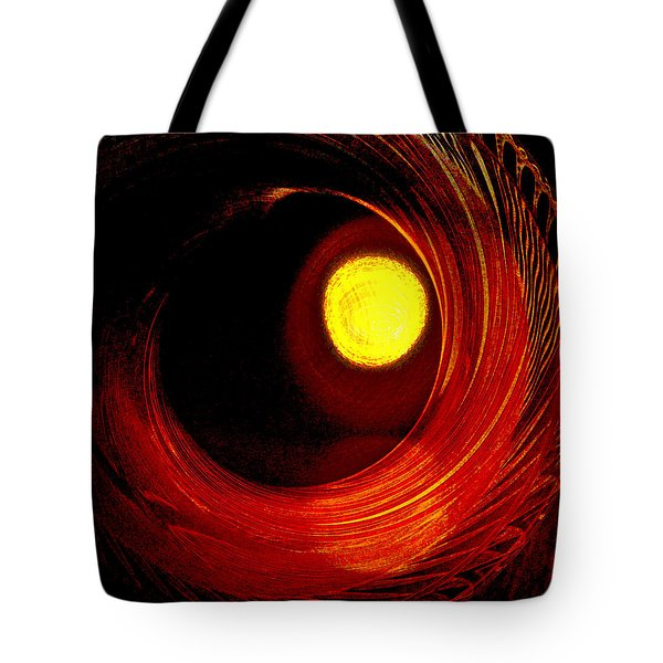 Indian Pottery As Earth Air Fire Tote Bag by Lenore Senior