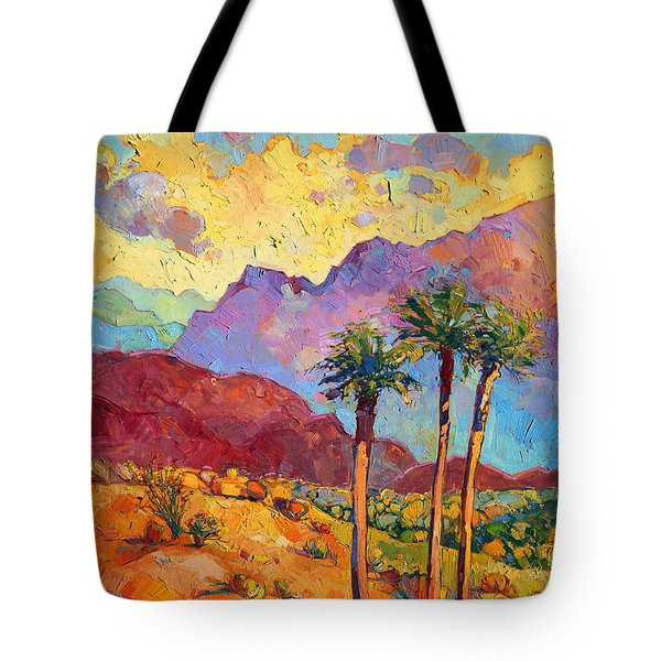 Indian Wells Tote Bag by Erin Hanson