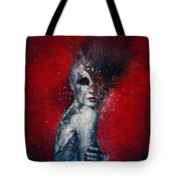 Indifference Tote Bag by Mario Sanchez Nevado