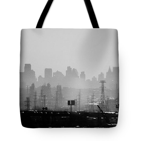 Industrial And Corporate Tote Bag by James Aiken