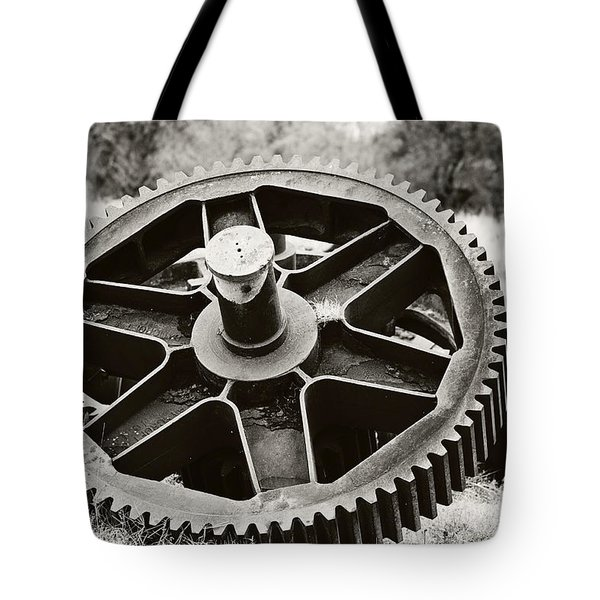Industrial Gear Tote Bag by Scott Pellegrin