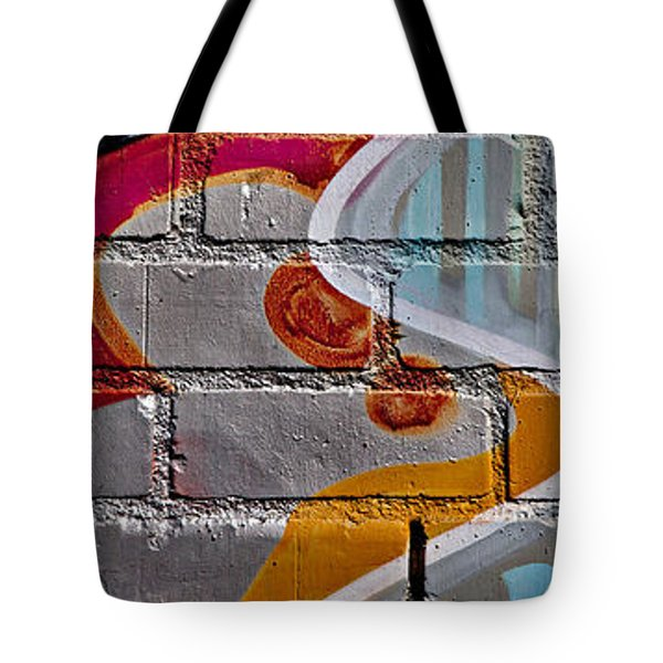 Industrial Graffiti Tote Bag by Art Block Collections