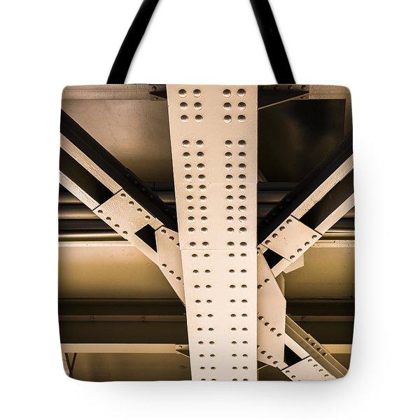 Industrial Metal Tote Bag by Alexander Senin