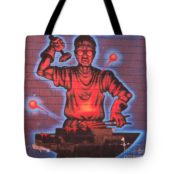 Industry  Tote Bag by John Malone
